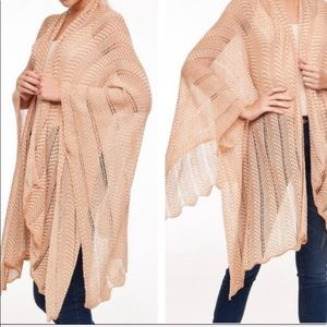 Fab Open Knit Boho Cardigan wrap